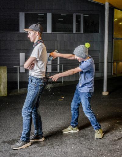 Fotospiren om mobbing