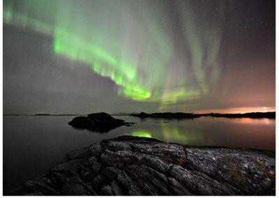 27 FIAP Color Biennal print nordlys. Foto: Helge Utne.