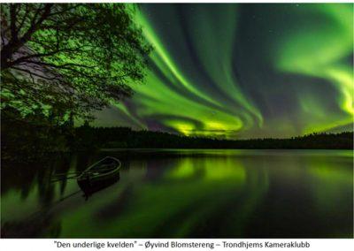 27 FIAP Color Biennal print nordlys. Foto: Øyvind Blomstereng.