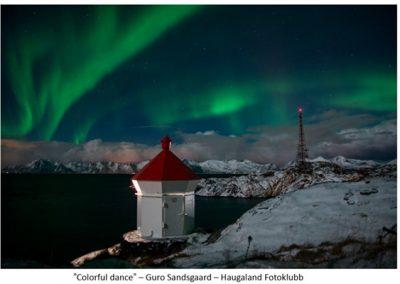 27 FIAP Color Biennal print nordlys. Foto: Guro Sandjord.