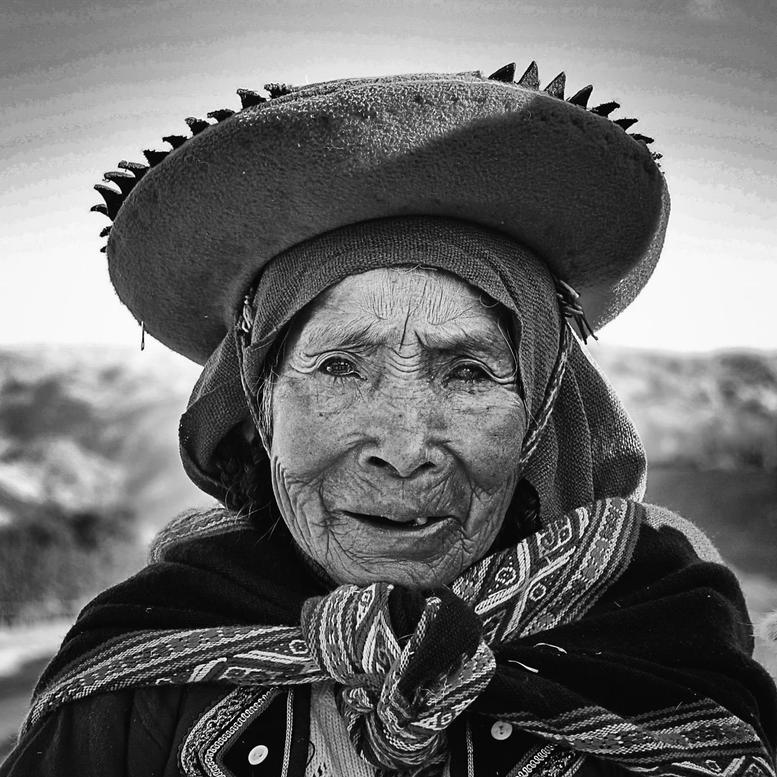 Peruvian Woman (foto: Linh Hoang, Trondhjems Kameraklubb)