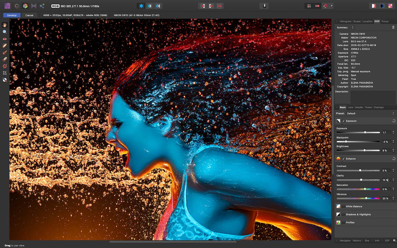 Affinity Photo 1.7 RAW