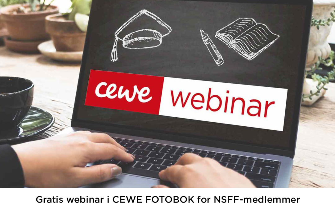 CEWE Japan Photo med gratis fotobok-webinar for NSFF