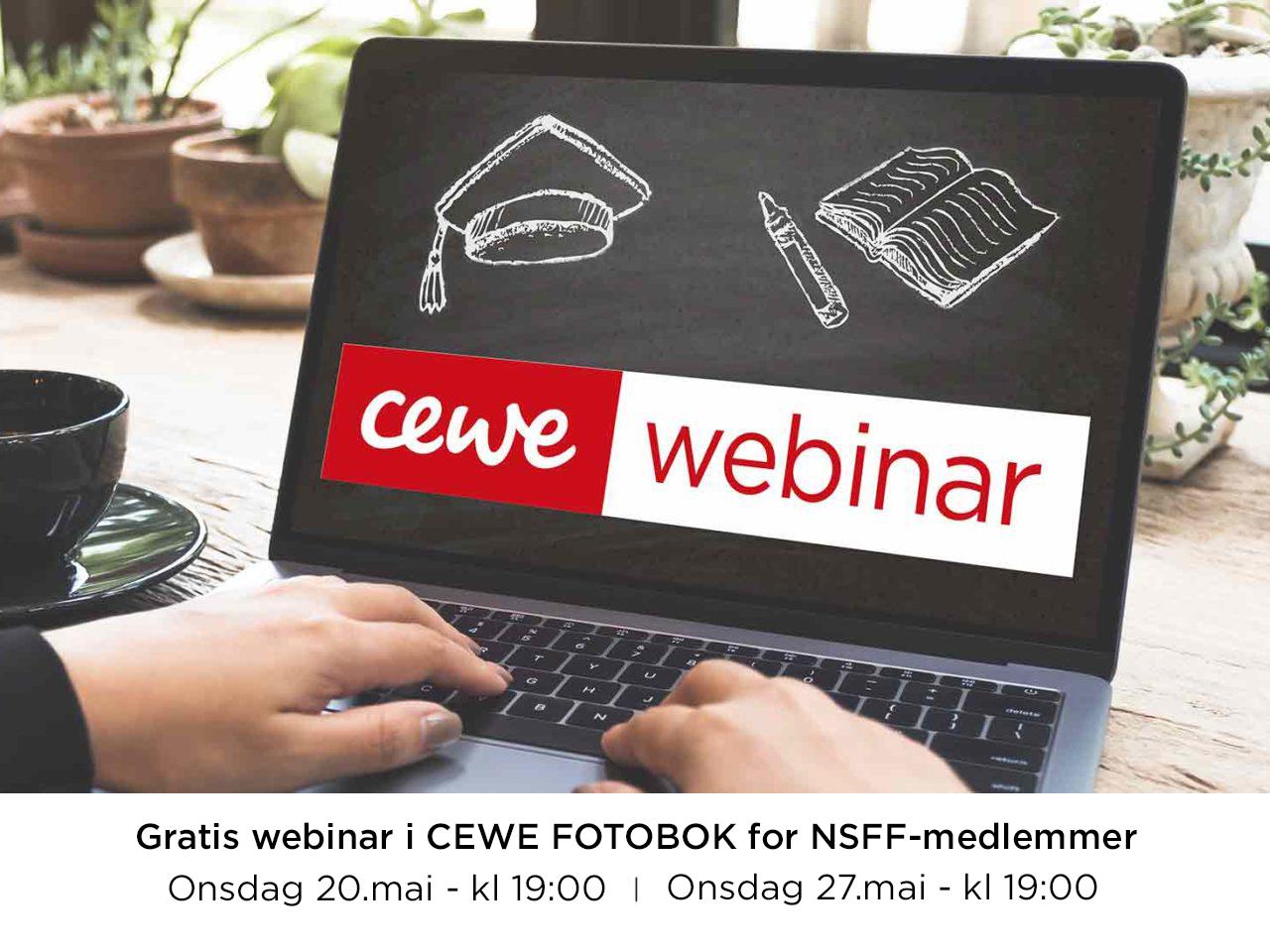 Webinar CEWE fotobok for NSFF