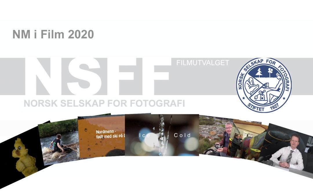 NM i Film 2020 – Norgesmester og Årets klubbb