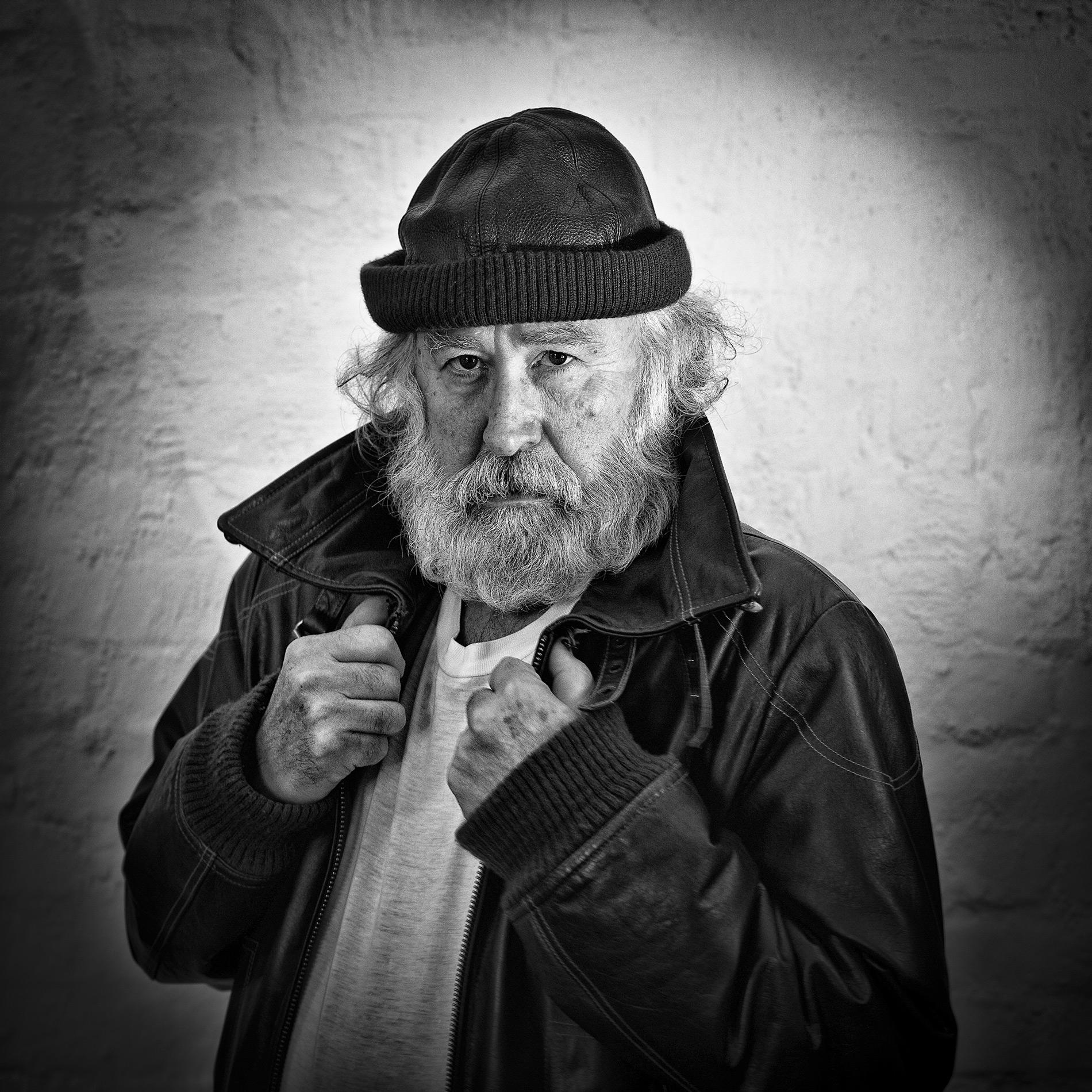 The old sailor (Roald Synnevåg): Hederlig omtale og Leif Preus Fotopris for beste portrett, vårrunden 2021