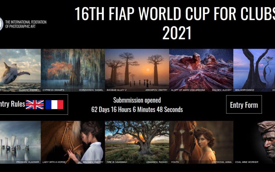 Invitasjon til 16th FIAP Clubs' World Cup